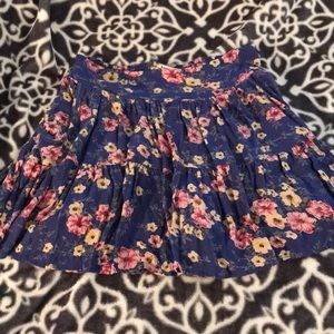 🎉 5 for $20🎉Adorable Pleated floral skirt